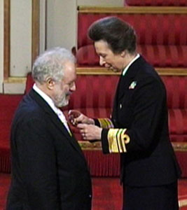 Kenneth Montgomery OBE Investiture